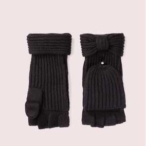 Kate Spade Bow Pop Top Gloves